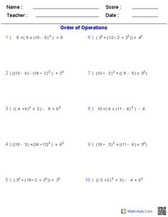 Worksheets Multi Operational Mathematical Maze multi operation math maze worksheetworks com pinterest order of operations worksheets