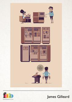 James Gilleard: www.folioart.co.uk/illustration/folio/artists/illustrator/james-gilleard - Agency: www.folioart.co.uk - #illustration #art #digital #office