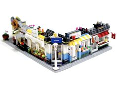 When I'm not MOCing, one of my favourite Lego related things to do is to scroll through Lego Ideas. Lego Ideas allows FOL's to submit their ideas for new sets – the public can su… Lego Table Ikea, Playroom Table, Lego Creations Instructions, Lego Furniture, Minecraft Furniture, Furniture Ideas, Lego Structures, Lego Village, Lego Advent