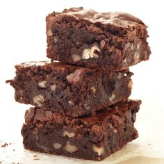 Skipping wheat flour doesn't have to mean forgoing decadent baked goods. These rich, nutty brownies are irresistible -- and easy to make. Don't worry about specialty ingredients; these brownies use ordinary pantry items.
