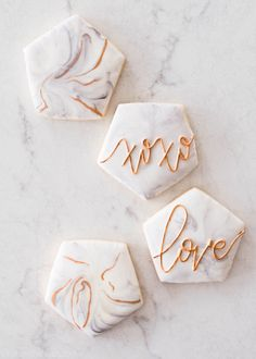 Create beautiful marbled cookies with this easy technique. Absolutely no cookie decorating experience or tools are required!