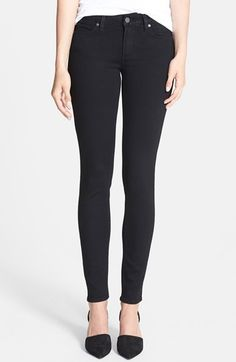 Paige Denim 'Verdugo' Ultra Skinny (Black Shadow) available at #Nordstrom