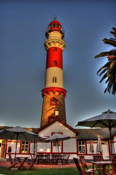 Swakopmund Lighthouse by Mario Zindler, via 500px
