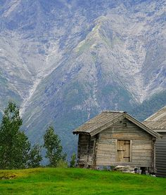A mountain cabin near Sogndal, Norway     #Travel