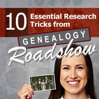 """Join """"Genealogy Roadshow"""" host D. Joshua Taylor as he discusses 10 essential research tricks you can learn from the show!"""