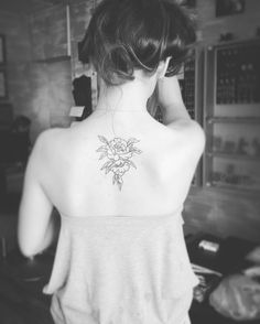 Peonies tattoo made by me