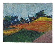 Frank Auerbach, 'Primrose Hill,' 1971, Tate Britain