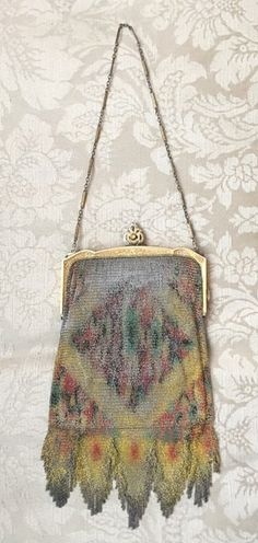 Whiting & Davis Mesh Purse MARKED DOWN by thecottagenashville