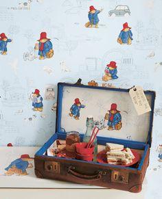 Paddington Bear™ - Nursery Tales Collection - Jane Churchill Fabrics & Wallpapers