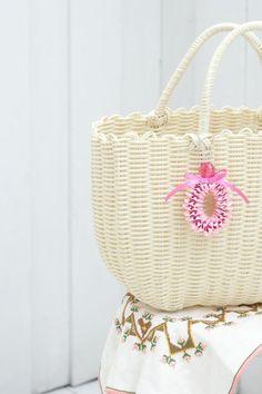 リボンレイで作る、おしゃれなバッグチャーム。/リボンレイで作るチャーム&アクセサリー(「はんど&はあと」2012年8月号)