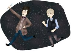 The 50 Best, Worst, And Weirdest Examples Of Doctor Who/Sherlock Crossover Fan Art