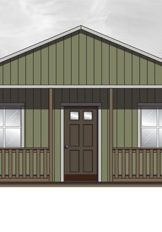 Tuff Shed cabin shell: The Calumet. 576 interior sq.ft.