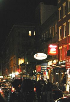 Little Italy's Mulberry Street, New York City