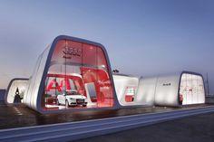 Audi AreA1 Roadshow Barcelona - Spain                                                                              #architecture