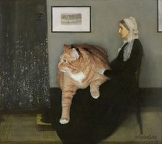 Fat cat meme - funny fat cat pictures with quotes Most Famous Paintings, Famous Artwork, Classic Paintings, Fat Cat Meme, Cat Memes, Jan Van Eyck, Johannes Vermeer, Hieronymus Bosch, Peter Paul Rubens