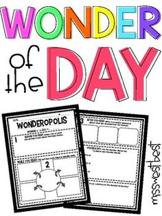Using Wonderopolis In Kindergarten One Teacher S Thoughts