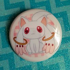 Contract?  Super cute Puella Magi Madoka Magica 1.5 pinback buttons! Take your…