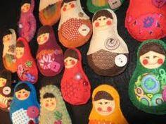 Haha! Nice...Russian nesting dolls! Homemade!