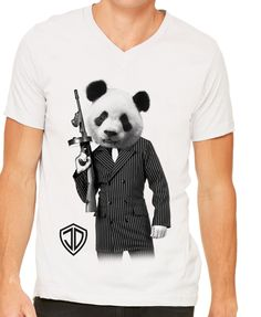 Panda V-Neck by Just Daddy