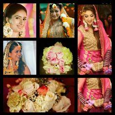 Bridal flower jewellery- photography by Irfan Ahson