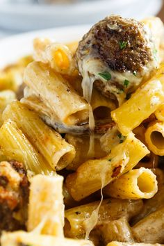 This Swedish meatball pasta bake is a take on the classic Swedish meatball dish that you love! This is ultimate comfort food!