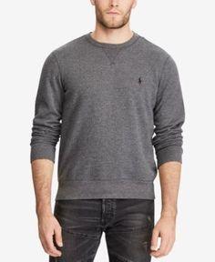 Polo Ralph Lauren Men's Fleece Sweatshirt - Heather Grey Texture