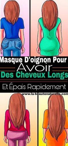 Masque d'oignon pour avoir des cheveux longs et épais rapidement #oignon #cheveux #longs
