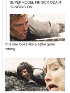 The Hunger Games – Catching Fire – Finnick Odair – Sam Claflin - Joanna - Katniss Everdeen - Jennifer Lawrence