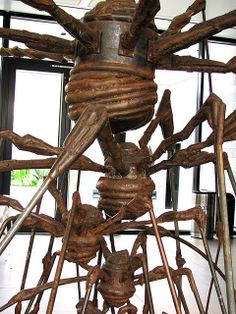 The Nest, 1994. Steel (1911-2010) SFMOMA - by Louise Bourgeois photo by rocor Louise Bourgeois, Louise Nevelson, Robert Motherwell, Richard Diebenkorn, Jackson Pollock, Keith Haring, Modern Art Sculpture, Art Of Fighting, Mother Art