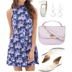 Mona Vanderwaal inspired summer outfit by liarsstyle on Polyvore featuring Forever 21, Charlotte Russe, ZALORA, Liz Claiborne, date and ss