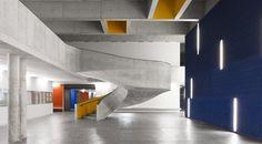 colour poetry   school in Lisbon by CVDB Arquitectos