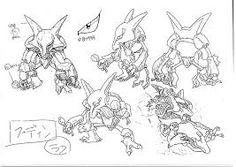 Resultado de imagem para SHEE TPOKEMON First Pokemon, Pokemon Special, Cute Pokemon, Character Model Sheet, Character Design, Aliens, Original 151 Pokemon, Pokemon Sketch, Warframe Art