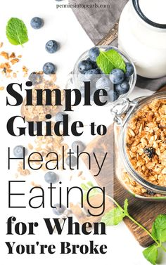 If you are trying to eat healthy but your wallet seems to be getting in the way, this is the guide for you! VIDEO tutorial actually walking you through a grocery store sharing easy tips you can use next time you go grocery shopping to save you money while eating healthy on a budget!