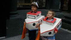 Pin for Later: 29 Halloween Costumes to Make From a Cardboard Box Ahoy There, Matey!