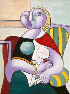 """""""Femme lisant"""" Pablo PICASSO (1881 - 1973) 1932"""