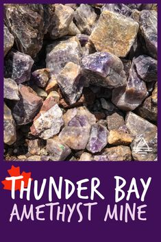 This amethyst mine in Ontario, Canada is a must-see family attraction! Thunder Bay Amethyst Mine - TRIPS TIPS and TEES Alberta Canada, Ottawa, Quebec, Places To Travel, Places To See, Travel Destinations, Vancouver, Gem Hunt, Rock Tumbling