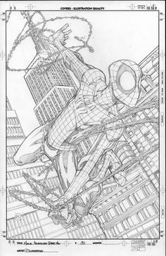 Marvel Adv Spider-Man 50 by PScherberger Comics Spiderman, Spiderman Drawing, Comic Book Artists, Comic Books Art, Comic Art, Man Sketch, Comic Drawing, Marvel Comic Character, Comic Pictures