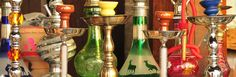 Egyptian Sisha in various flavors.