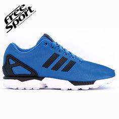 big sale 90124 29128 Adidas Zx Flux scarpe Blu Azzurro Nova