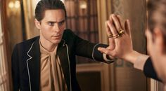Behind the scenes of Gucci Guilty fragrance campaign starring Jared Leto #jaredleto #gucci #guilty #campaign