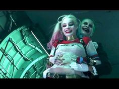 Imagini pentru harley quinn and joker movie scenes
