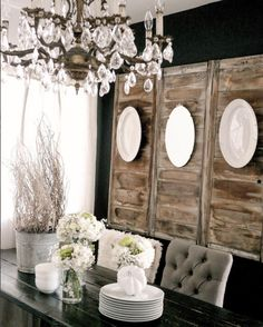 How To Decorate With Plates On A Wall Dining Room Decorfarmhouse