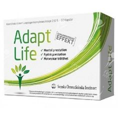 ‪Buy Swedish Herbal Institute, Adapt Life (with Adapt 232) -  at Pickvitamin.com Freshest Products Online with Fast Dispatch. We Only Sell the Good Stuff. ‬