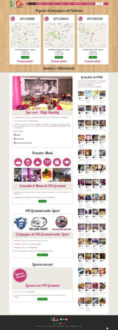 140 Grammi Homepage - Newweblab.net