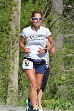 Marathoner Eva Casale. 7 Marathons in 7 Consecutive Days Photo: Courtesy Team in Training/Eva Casale