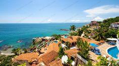 The view of Conchas Chinas in #PuertoVallarta http://www.tropicasa.com/condos/Condo-Iguana-4-2/1056 -