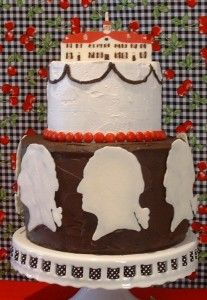 George Washington love this! George Washington Birthday, Kid Birthdays, Birthday Recipes, Presidents Day, Cake Art, American History, Birthday Parties, Party Ideas, Cakes