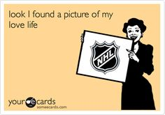 Look I found a picture of my love life #hockey #nhl
