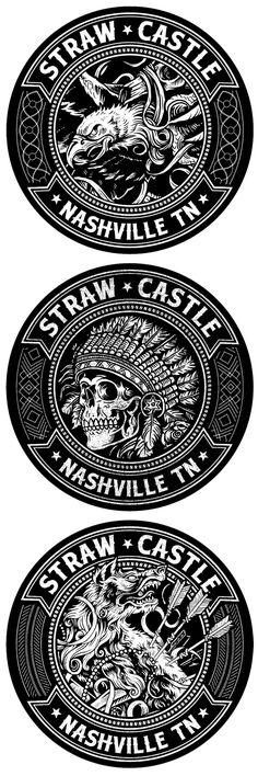 Sticker set - Derrick Castle
