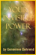 Your Invisible Power Audio Book, by Genevieve Behrend  *** FREE Audio Download